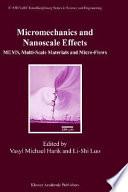 Micromechanics and Nanoscale Effects