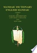 Mandaic Dictionary