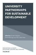 University Partnerships for Sustainable Development