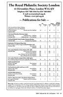 Philatelic Literature Review