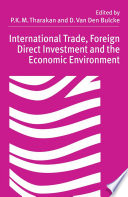 International Trade  Foreign Direct Investment and the Economic Environment