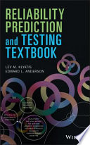 Reliability Prediction and Testing Textbook Book