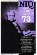 New Theatre Quarterly 73  Volume 19