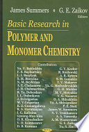 Basic Research in Polymer and Monomer Chemistry