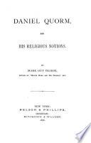 Daniel Quorm And His Religious Notions