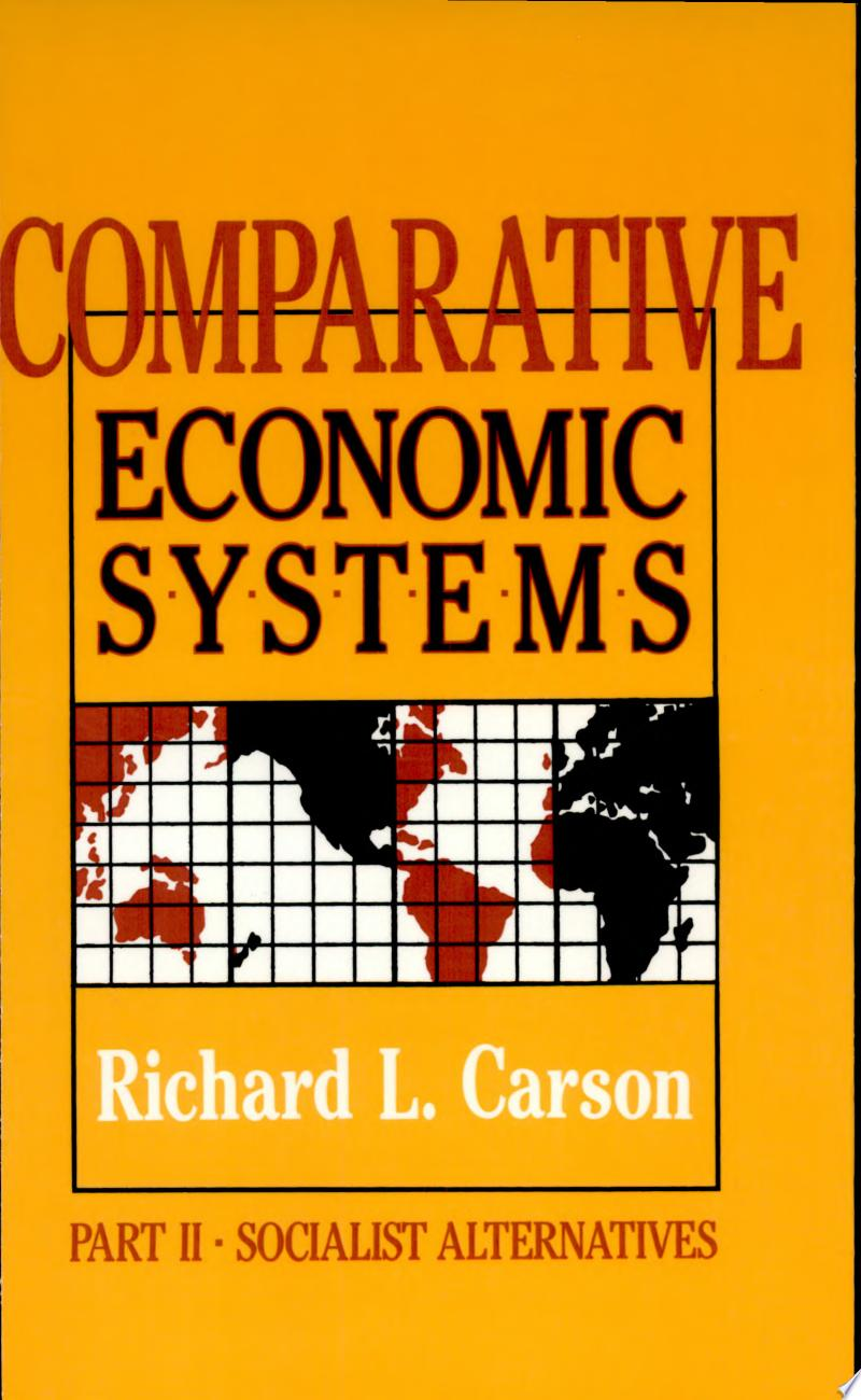 Comparative Economic Systems banner backdrop