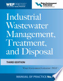 Industrial Wastewater Management  Treatment  and Disposal  3e MOP FD 3 Book