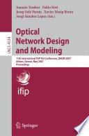 Optical Network Design and Modeling