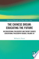 The Chinese Dream  Educating the Future Book