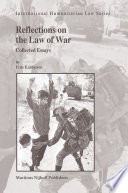 Reflections on the Law of War