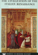 The Civilization of the Italian Renaissance Book PDF
