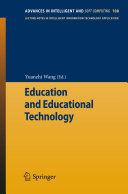 Education and Educational Technology