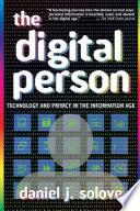 The Digital Person Book PDF