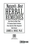 Nature s Best Herbal Remedies