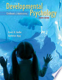 Developmental Psychology Childhood Adolescence