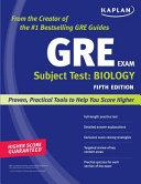 Kaplan GRE Subject Test  Biology
