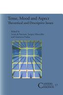 Tense  Mood and Aspect