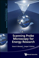 Scanning Probe Microscopy for Energy Research Book