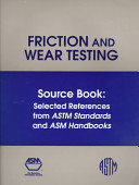 Friction and Wear Testing