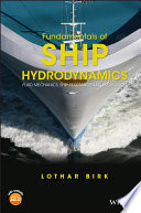 Fundamentals Of Ship Hydrodynamics Book PDF