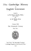 Cambridge History of English Literature
