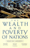 Cover of The Wealth and Poverty of Nations