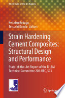 Strain Hardening Cement Composites  Structural Design and Performance