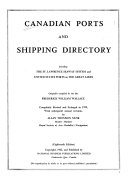 Canadian Ports and Seaway Directory