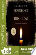 Biblical Repentance Book