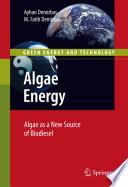 Algae Energy Book