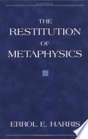The Restitution of Metaphysics