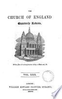 The Church of England quarterly review Book PDF
