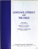 Language Literacy And The Child