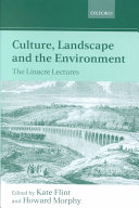 Culture  Landscape  and the Environment
