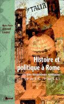 Histoire et politique à Rome