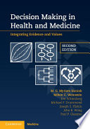 Decision Making in Health and Medicine Book