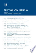 Yale Law Journal Symposium The Meaning Of The Civil Rights Revolution Volume 123 Number 8 June 2014