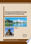 Environmental Biotechnology and Materials Engineering