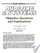 Auditing & systems