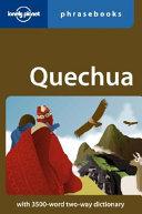 Quechua Phrasebook