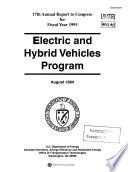 Electric And Hybrid Vehicles Program Book PDF