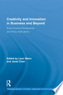 Creativity And Innovation In Business And Beyond Book PDF