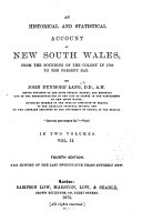 An Historical and Statistical Account of New South Wales