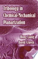 Tribology In Chemical Mechanical Planarization Book PDF