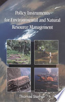 Cover of Policy Instruments for Environmental and Natural Resource Management