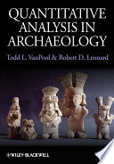 Quantitative Analysis in Archaeology