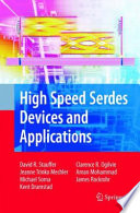 High Speed Serdes Devices and Applications Book