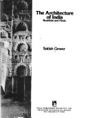 the architecture of india buddhist and hindu satish grover