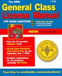 The ARRL General Class License Manual Book