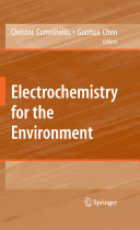 Electrochemistry for the Environment Book